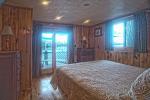 bedroom overlooking lake