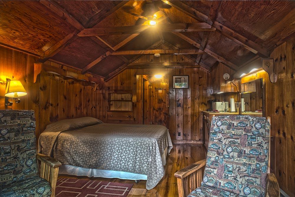 Wood Beam cabin